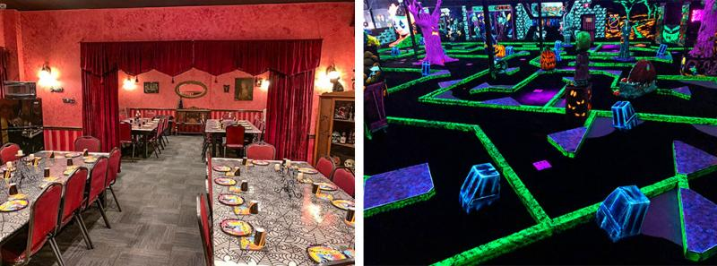 Laser Maze & Party Rooms -