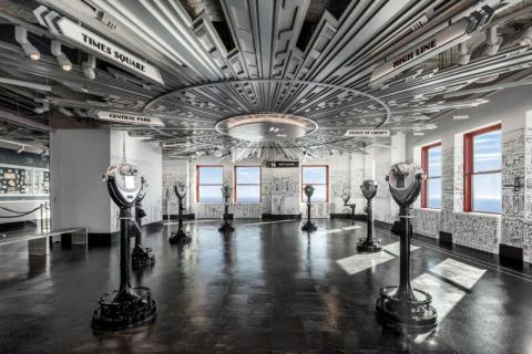 Fun for the whole family! The World's Most Famous Building, the Empire State Building features iconic views, 12 new interactive exhibits and brand-new 86th and 102nd floor Observatories. -