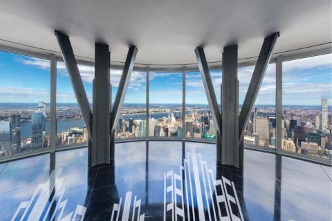 The NEW Empire State Building provides a whole NEW way to see New York. -