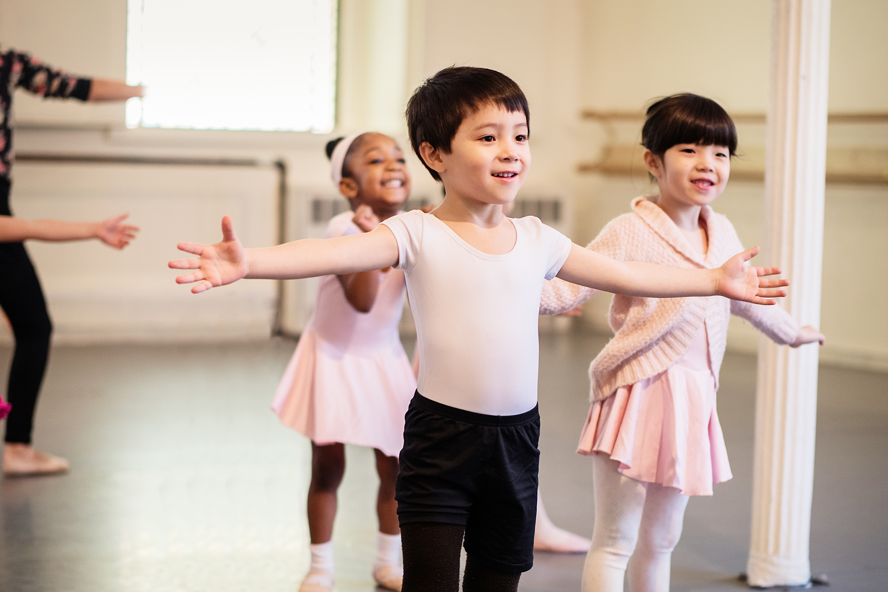 Pre-Ballet Classes beginning at age 4 -