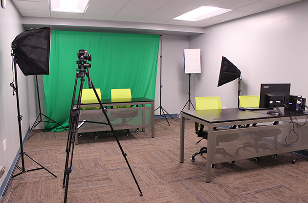 video broadcast studio