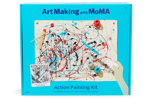 art making with moma kit