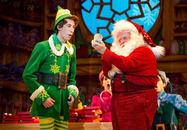 elf the musical santa msg