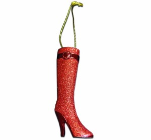 kinky boots ornament christmas gift
