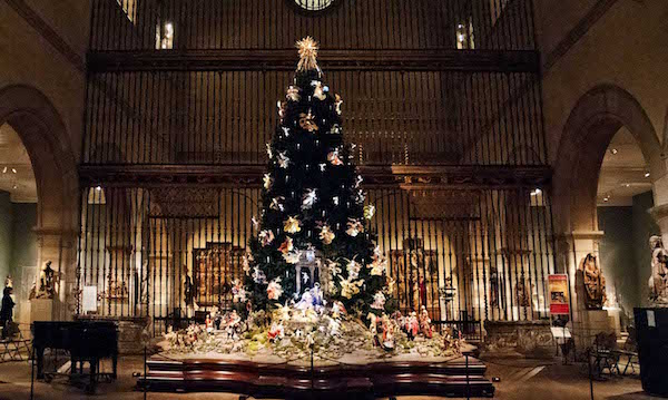 Christmas Tree at the Met