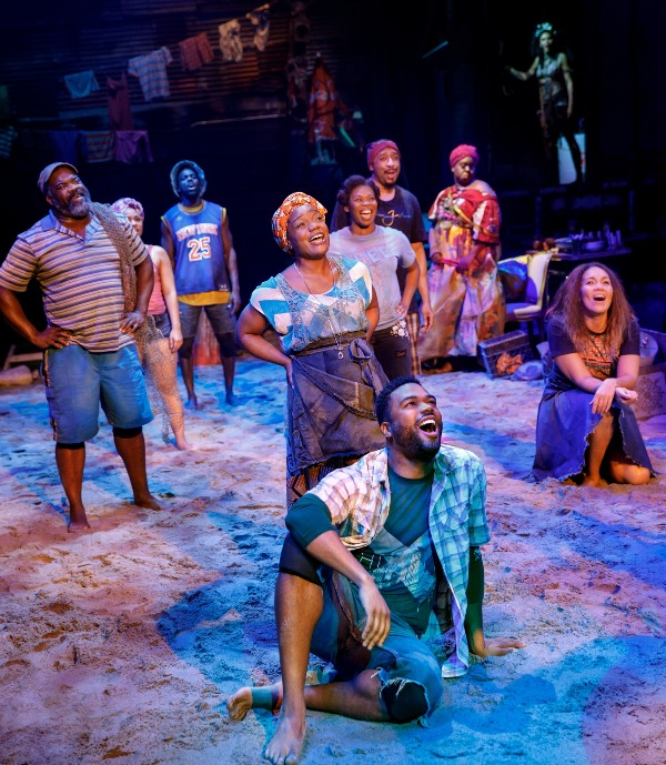 cast once on this island broadway revival