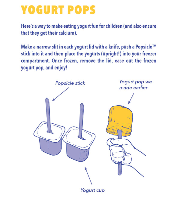 yogurt pops
