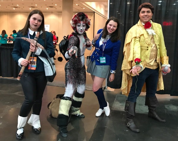 cosplay broadwaycon 2018