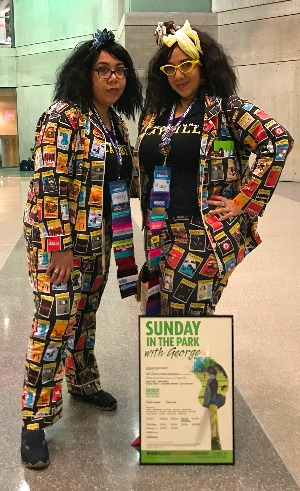 playbill cosplay missy rivera broadwaycon 2018