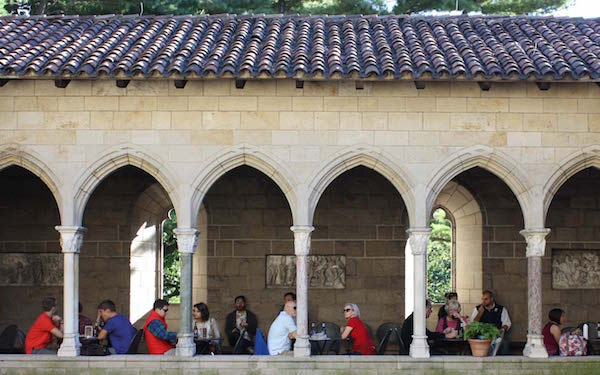 Trie Cafe , Cloisters