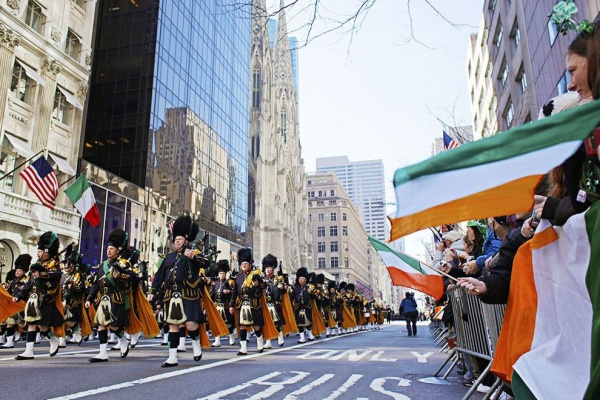 fifth avenue st patricks day parade nyc