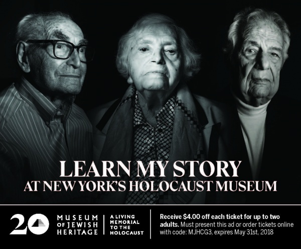 museum of jewish heritage battery park discount coupon code