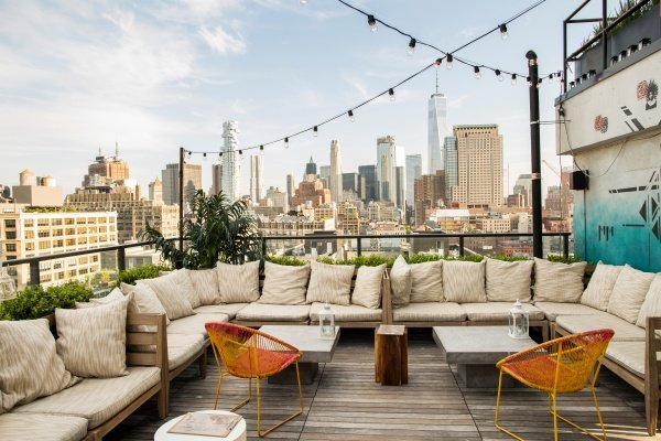 azul hugo rooftop nyc