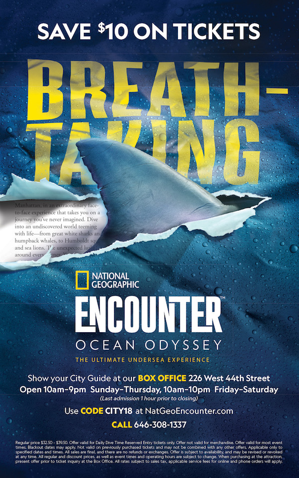NatGeo Encounter save $10 on tickets
