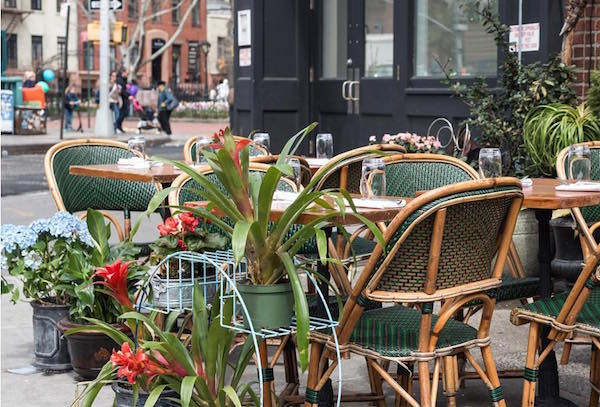 A Traditional French Brerie Boucherie S West Village Location Has The Rule Of Sidewalk On Its Corner 7th Avenue South Try Out