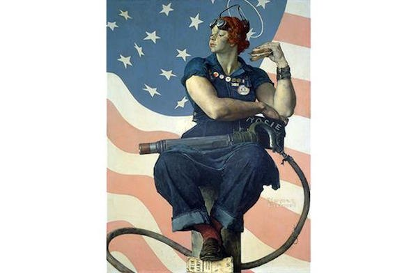 Rockwell's Rosie the Riveter