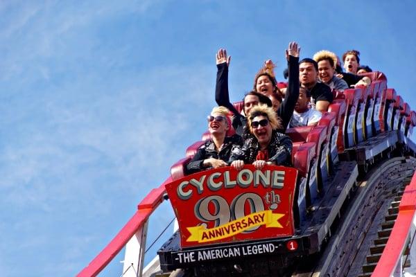 cyclone coney island luna park