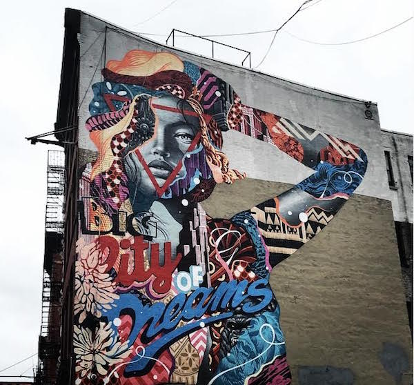 Big City of Dreams Tristan Eaton
