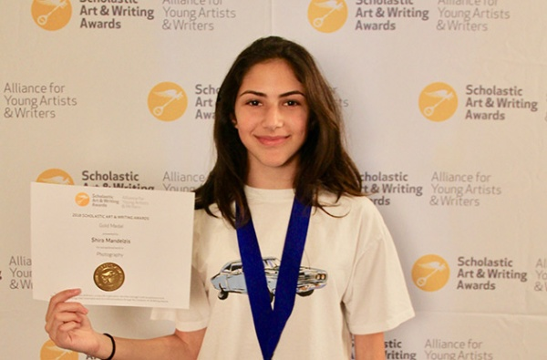shira mandelzis 2018 scholastic art and writing national gold medal winner