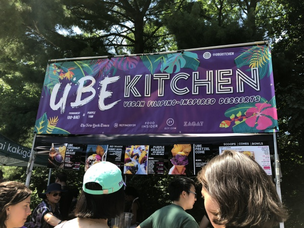Ube Kitchen frozen vegan purple yam treats
