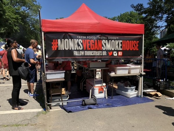 Monk's Vegan Smoke House