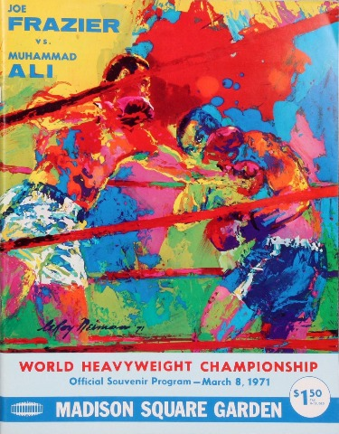 frazier ali program madison square garden