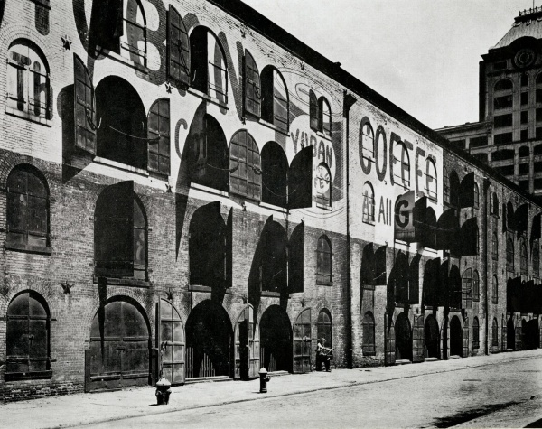 empire stores brooklyn waterfront 1936