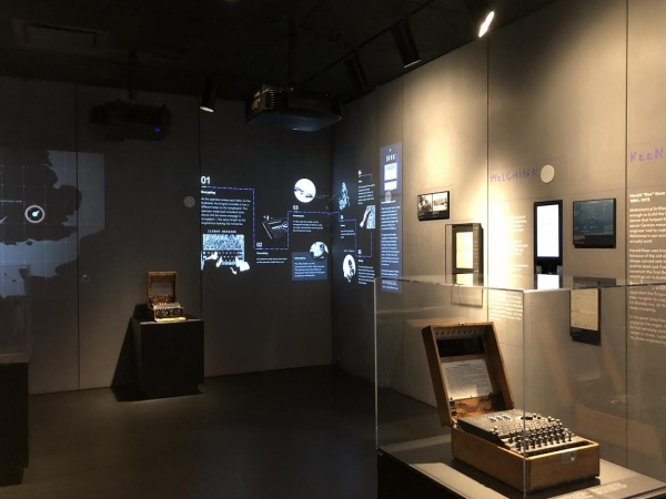 code typewriter exhibit spyscape