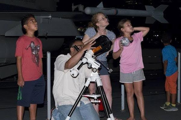 Intrepid Family Astronomy Night