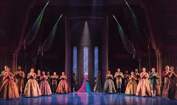 company of frozen broadway