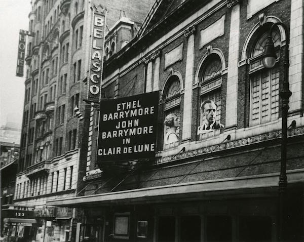 Belasco Theater 1921
