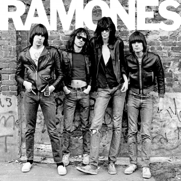 ripped jeans leather jackets the ramones
