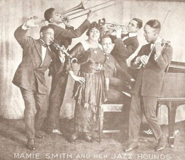 crazy blues mamie smith jazz hounds