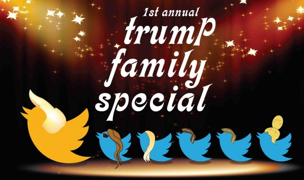 1st annual trump family special off broadway