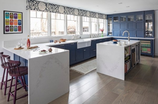 Colorful Cabinet Kitchen Trend