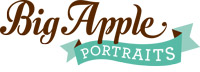 big apple portraits logo