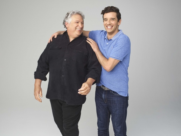 Michael Urie and Harvey Fierstein of Harvey Fierstein's Torch Song