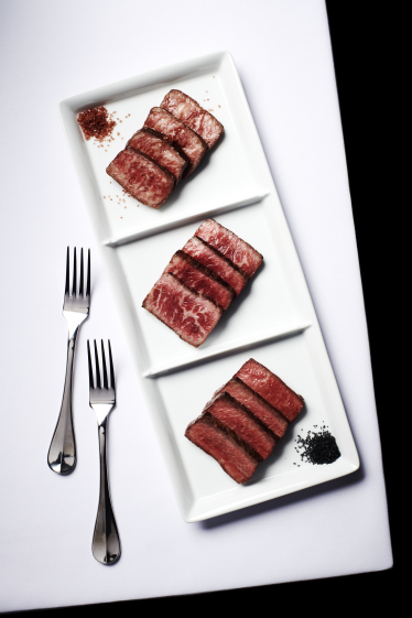 wagyu tasting plate del frisco's