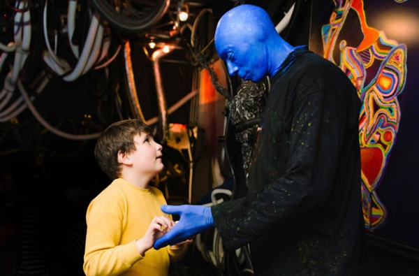 blue man group sensory-friendly performance