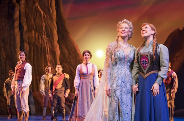 frozen the musical sensory friendly performance