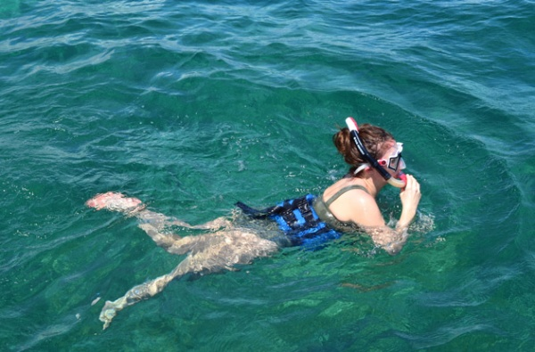 snorkeling with nexus tours in punta cana