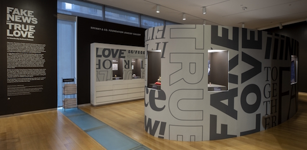The Museum of Arts and Design Fake News and True Love