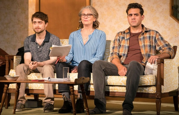 The star power of Daniel Radcliffe, Cherry Jones, and Bobby Cannavale together in The Lifespan of a Fact.
