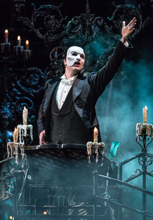ben crawford the phantom on broadway