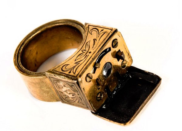 KGB Museum Ring with built-in camera