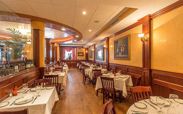 An interior view of Ben & Jack's Steakhouse.