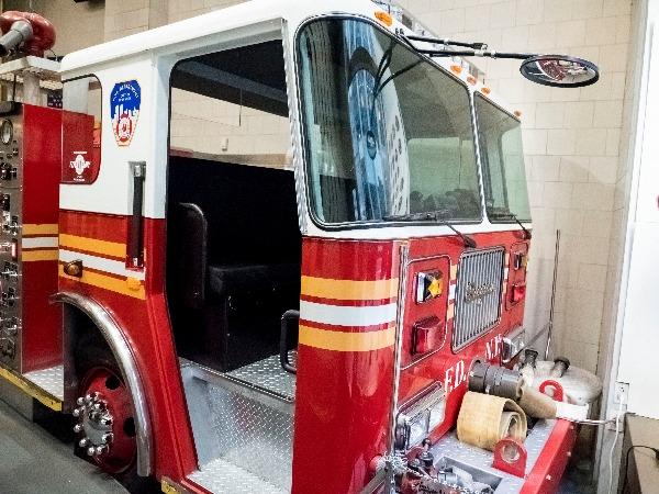 fdny fire zone firetruck