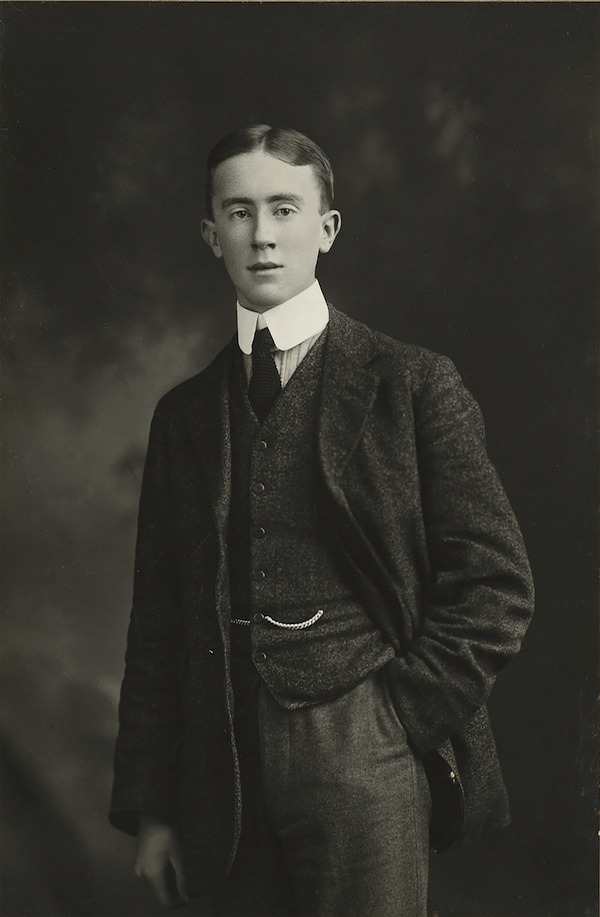 j.r.r. tolkien young