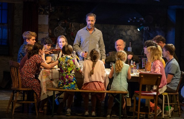 Paddy Considine as family head Quinn in the Olivier Award-winning The Ferryman