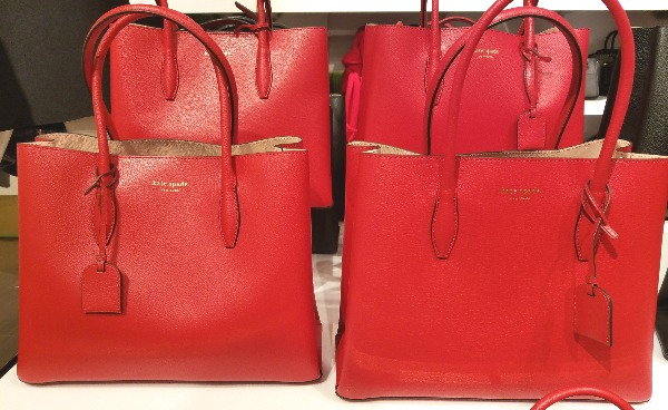 kate spade bags valentine's red